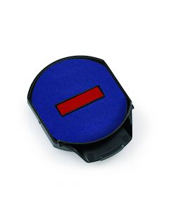 Trodat Professional Replacement Pad 6/15/2 blue-red